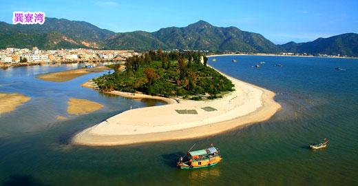 【3d假期】惠东巽寮湾,文化街,双月湾沙滩三天(巽双三天)